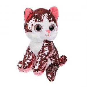 Мягкая игрушка  Котенок Блестяшка 23 см Fluffy Family