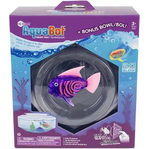 Микроробот  Светящаяся рыбка с аквариумом Hexbug. Цвет: фиолетовый