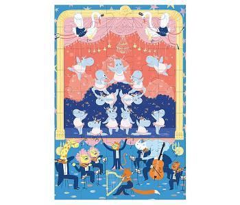 Игрушки из картона: пазл Балерина Krooom