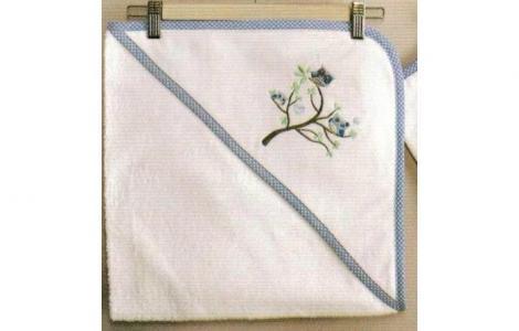 Комплект полотенце-уголок + варежка Sweet Home Kidboo
