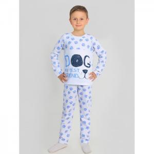 Пижама Лапки-1 с шелкографией Ивашка