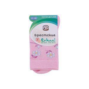 Носки для девочки Брестские. Цвет: розовый