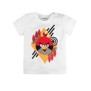 Футболка  Angry Birds, цвет: белый Bossa Nova
