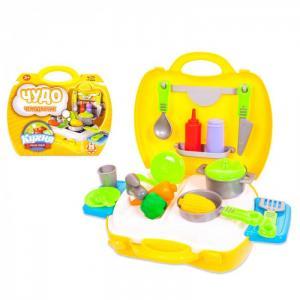 Чудо-чемоданчик Кухня 21 предмет ABtoys