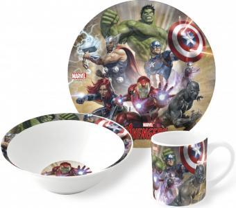 Набор посуды керамической Мстители пыль (3 предмета) Stor