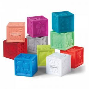 Развивающая игрушка  кубики Squeeze & Stack Infantino