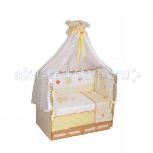 Комплект в кроватку  Азбука (7 предметов) Селена (Сдобина)