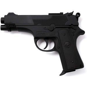 Пистолет  Leopardmatic, 17,5 см Edison. Цвет: черный