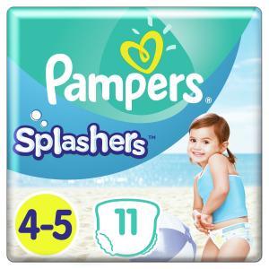 Трусики-подгузники  Splashers, р. 04.май, 9-15 кг, 11 шт Pampers