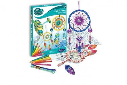 Набор для творчества Волшебный пластик Ловец снов SentoSpherE