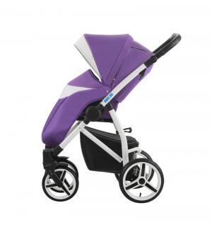 Прогулочная коляска  Medio, цвет: фиолетовый/белый Aroteam