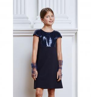 Платье , цвет: синий Смена