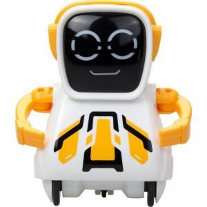 Интерактивный робот  Покибот 7.5 см цвет: желтый Silverlit