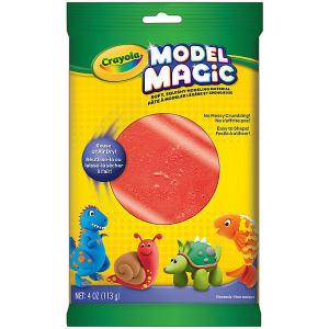 Застывающий пластилин  Model Magic, красный 113 гр Crayola