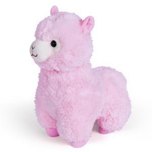 Мягкая игрушка  Гламурная Альпака цвет: розовый Fancy