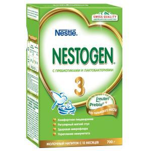 Детское молочко  3 с 12 месяцев, 700 г Nestogen