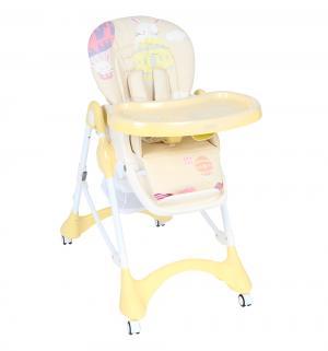 Стульчик для кормления  S1, цвет: желтый/бежевый/воздушный шар Corol