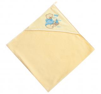 , Полотенце Bebe (желт), (100*100 см) Womar