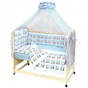 Комплект в кроватку  Мишутка (7 предметов) Топотушки