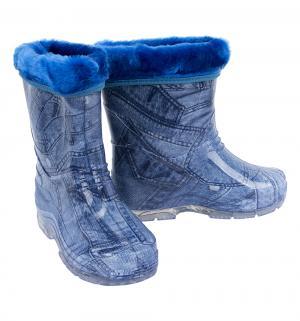 Резиновые сапоги , цвет: синий Каури