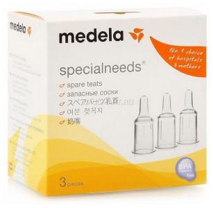 Соска  SpecialNeeds силикон, с рождения Medela