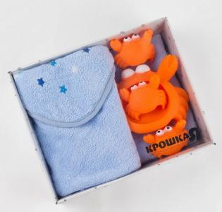Набор полотенце Star boy с игрушками Крошка Я
