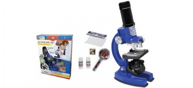 Набор для опытов с микроскопом (33 предмета) Eastcolight