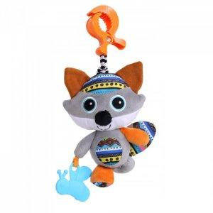 Подвесная игрушка  на прищепке Волчонок Кекс 27x13 см Biba Toys