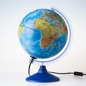 Глобус  физико-политический с подсветкой d=250 мм Globen
