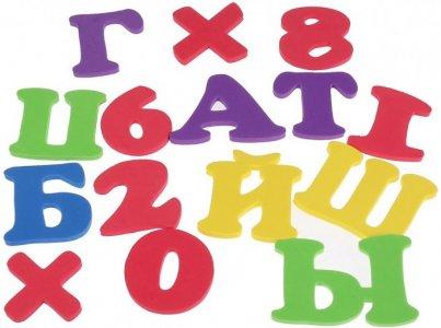 Набор для купания Фиксики Буквы и цифры EVA03 Играем вместе