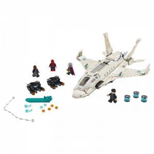 Конструктор  Super Heroes 76130 Лего Супер Герои Реактивный самолёт Старка и атака дрона Lego
