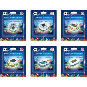 Набор 3D пазлов № 1 IQ-puzzle Малые стадионы, 6 шт. IQ Puzzle