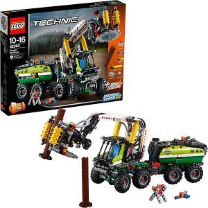 Конструктор  Technic 42080: Лесозаготовительная машина LEGO