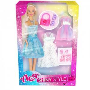 Кукла Ася Блестящий выход дизайн 1 28 см Toys Lab