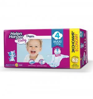 Подгузники  Baby Maxi (7-14 кг) 62 шт. Helen Harper
