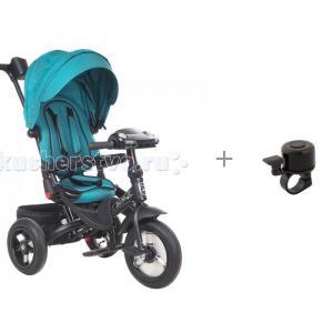 Велосипед трехколесный  Mini Trike T400 Jeans и звонок R-Toys XN-1 Mars