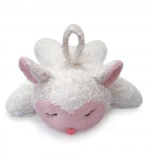 Мочалка  в форме мягких игрушек, цвет: белый Сказка