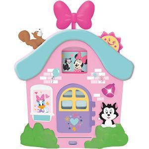 Развивающая игрушка Интерактивный домик Минни Маус и друзья Kiddieland. Цвет: розовый