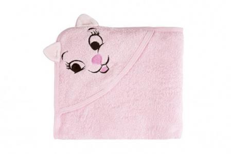 Полотенце с капюшоном Кошки TwinklBaby
