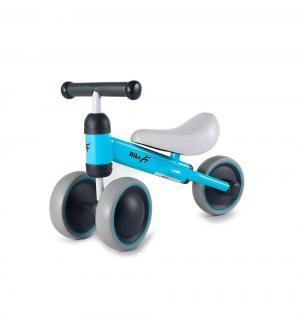 Детский трехколесный беговел  Движение, цвет: голубой Bradex