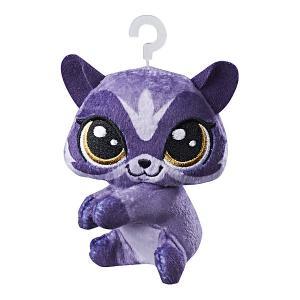 Мягкая игрушка-прилипала Little Pet Shop, Енот Hasbro
