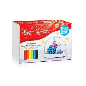 Набор для творчества  Создай Волшебный шар Снеговики Magic Moments. Цвет: разноцветный