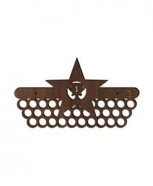 Медальница Звезда Стенаграмма