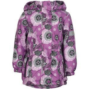 Демисезонная куртка JICCO BY OLDOS Ирма. Цвет: сиреневый
