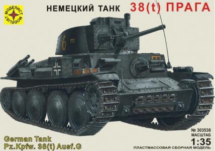 Модель немецкий танк 38(t) Прага Моделист