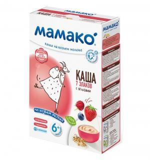 Каша  молочная 7 злаков с 6 месяцев 200 г Мамако