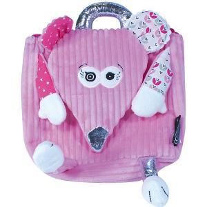 Рюкзак Deglingos Coquelicos  Mouse розовый. Цвет: розовый
