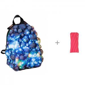 Рюкзак Bubble Pint Warpspeed 28 см c пеналом-сумочкой Zipit Neon Pouch MadPax