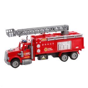 Инерционная машинка  Пожарная с телескопической вышкой Наша Игрушка