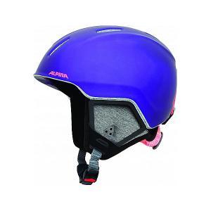 Зимний шлем  CARAT LX royal-purple matt Alpina. Цвет: фиолетовый